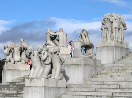 sculpture park Vigelandparken Oslo