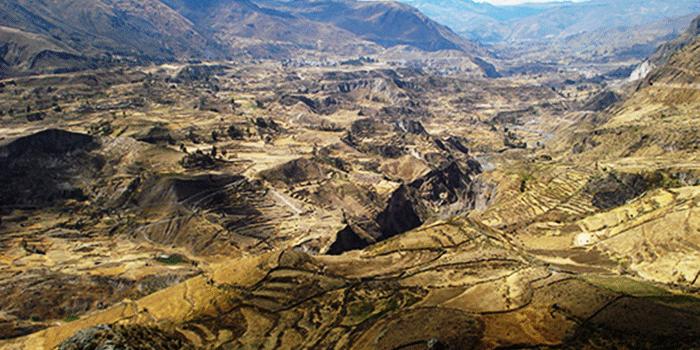 Colca Canyon, Colca Valley