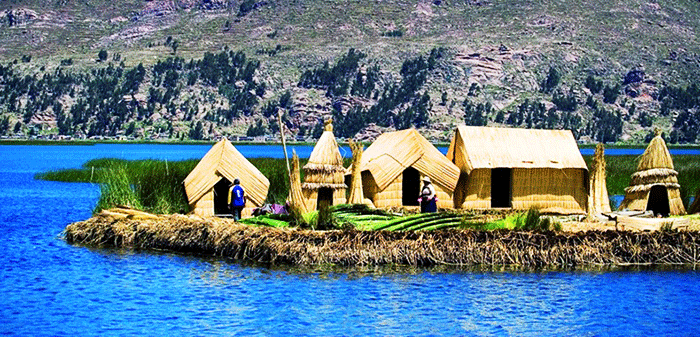 Uros Floating Island, Puno